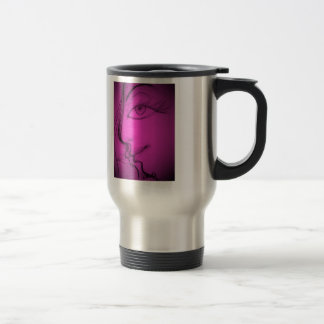 Violet eyes travel mug