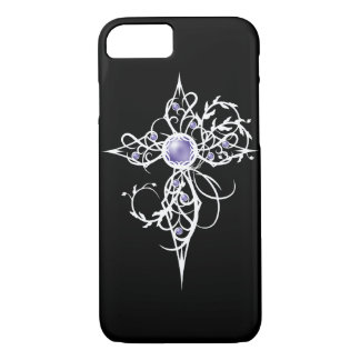 Violet Fantasy Angel Light Cross iPhone 8/7 Case