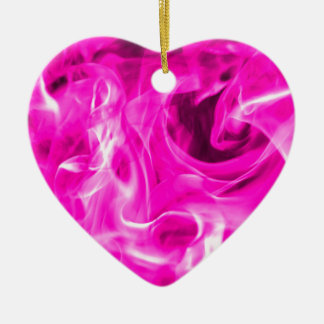 Violet flame and violet fire gifts from St Germain Ceramic Heart Decoration