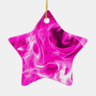 Violet flame and violet fire gifts from St Germain Ceramic Star Decoration