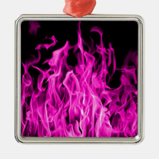 Violet flame and violet fire gifts from St Germain Silver-Colored Square Decoration