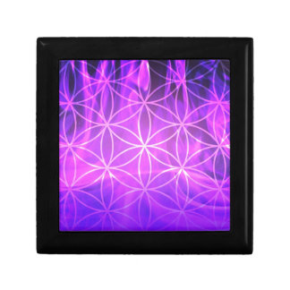 Violet Flame Flower of Life Gift Box