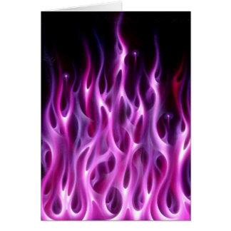 Violet Flames Card