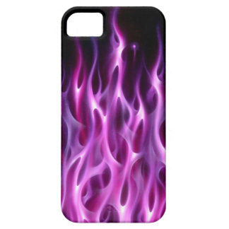Violet Flames - iPhone 5 Case