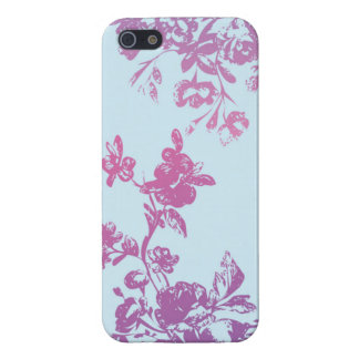 Violet Flora iPhone5 Case iPhone 5/5S Cover