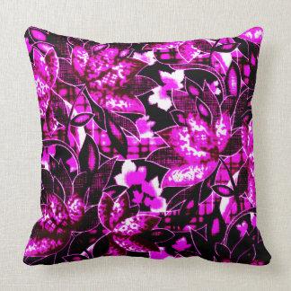 Violet Floral Cushion