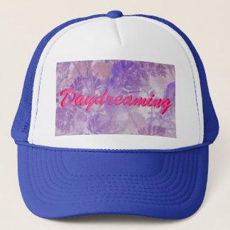 Violet Floral Daydreaming Cap