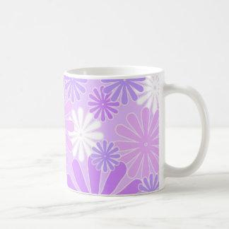 Violet florals - Mug