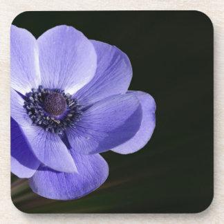 Violet flower coaster