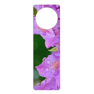 Violet Flower Door Hanger