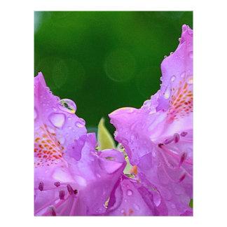 Violet Flower Flyer