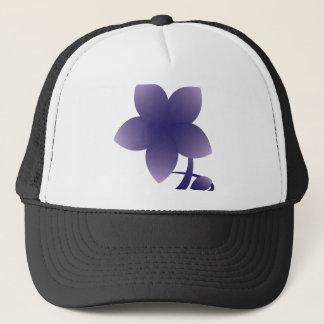 Violet flower - nb trucker hat