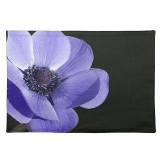 Violet flower placemat