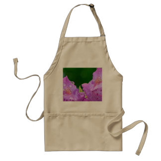 Violet Flower Standard Apron