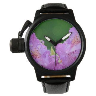 Violet Flower Watch