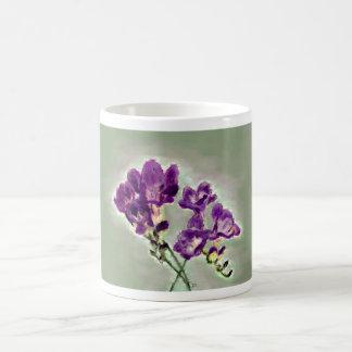 Violet Freesia mug