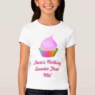 Violet Frosting Vanilla Cupcake Rainbow Baking Cup T-shirts