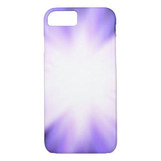 Violet glow light effect iPhone 8/7 case
