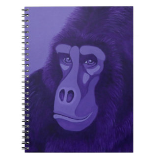 Violet Gorilla Notebook