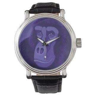 Violet Gorilla Watch