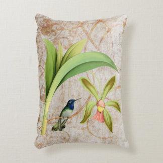 Violet Headed Hummingbird Accent Pillow