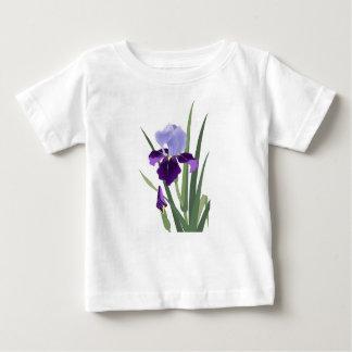 Violet Irises Baby Fine Jersey T-Shirt