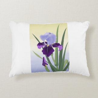 "Violet Irises Pillow 16"" x 12"""
