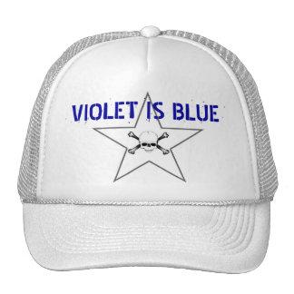 VIOLET IS BLUE MESH HAT