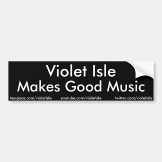 Violet Isle Makes Good Music sticker
