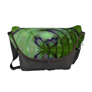 Violet Kimono Moon Commuter Bags