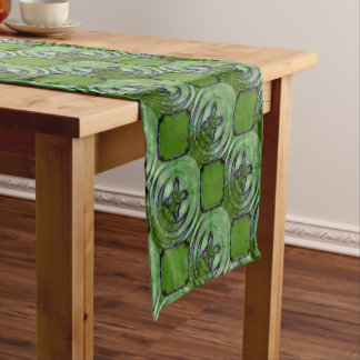 Violet Kimono Moon Short Table Runner