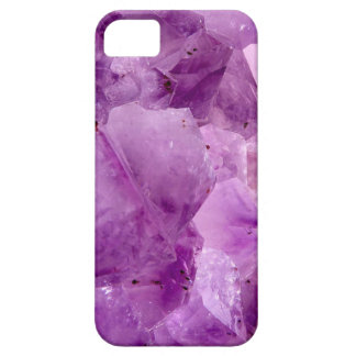 Violet Kryptonite Crystals Case For The iPhone 5