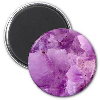 Violet Kryptonite Crystals Magnet