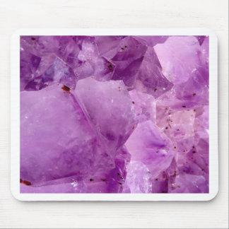 Violet Kryptonite Crystals Mouse Pad