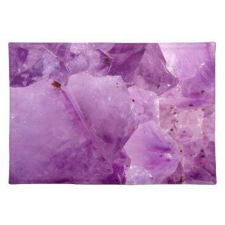 Violet Kryptonite Crystals Placemat