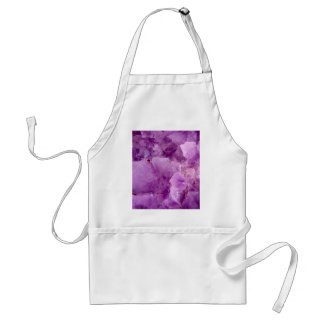 Violet Kryptonite Crystals Standard Apron