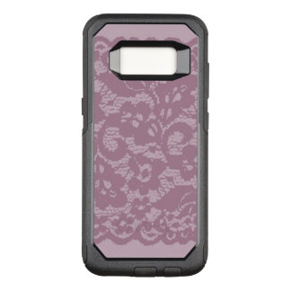 Violet lace OtterBox commuter samsung galaxy s8 case