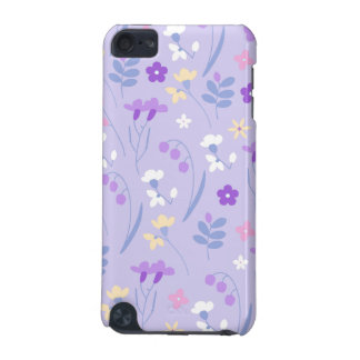 violet,lavender,cute,floral,pink,purple,pattern,gi iPod touch 5G case