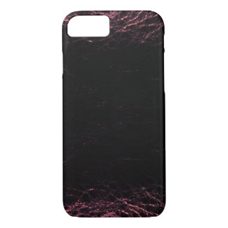 Violet Leather iPhone 7 Case