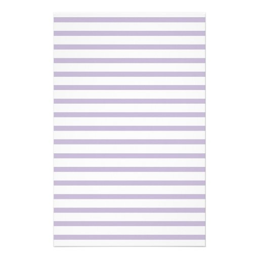 Violet Lined Paper Stripes for Notes Stationery