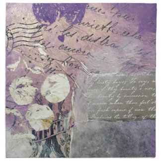 Violet Petals - Collection Napkin