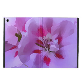 Violet Pink Abstract Hibiscus Flower iPad Air Case
