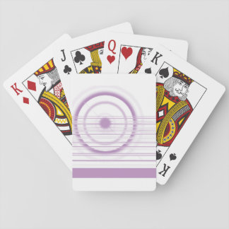 violet playing cards