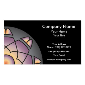 Violet Power Business Card Template