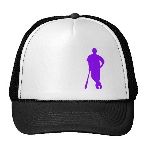 Violet Purple Baseball, Softball Mesh Hat