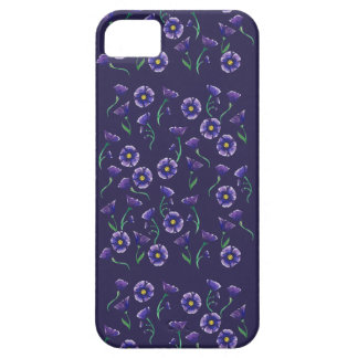 Violet Purple Flower Barely There iPhone 5 Case