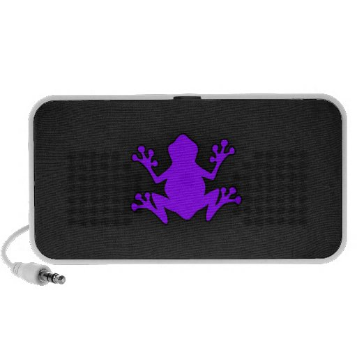 Violet Purple Frog Speaker System