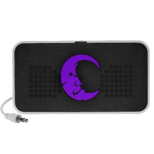 Violet Purple Moon Travel Speaker