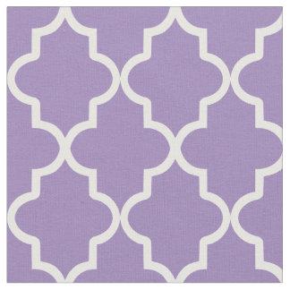 Violet Purple Moroccan Quatrefoil