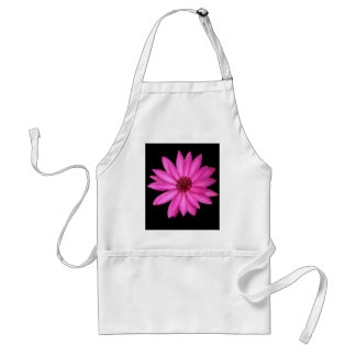 Violet Purple Pink Lotus Flower Apron